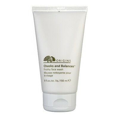 1 PC Origins Checks and Balances Frothy Face Wash 150ml Skincare Cleansers #1416