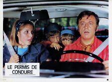 LOUIS VELLE PASCALE ROBERTS LE PERMIS DE CONDUIRE 1974 PHOTO D'EXPLOITATION #4