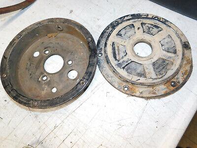 Suzuki LT125 LT 125 Quadrunner 1984 84 rear brake drum hub shoes covers