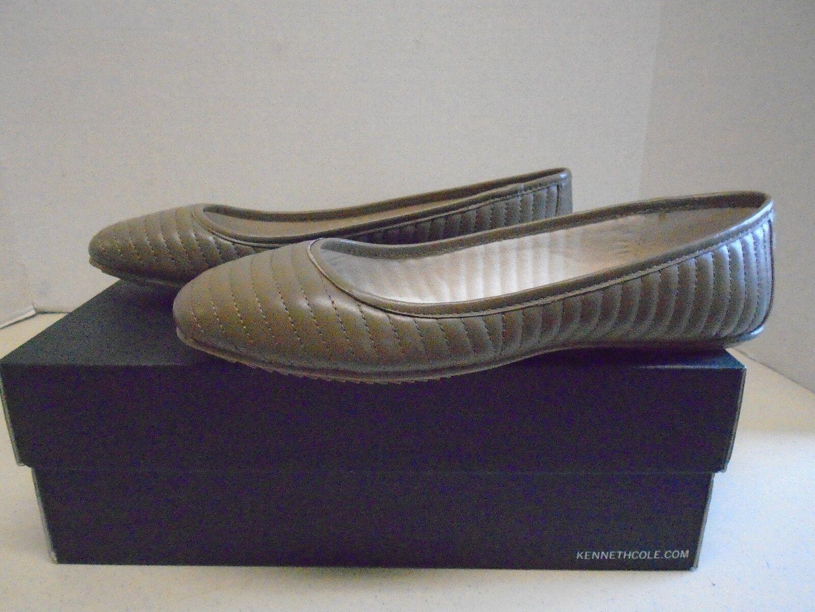 Kenneth Cole New York Tracy Black Womens Tan Shoes Beige Tan Womens Flats New 7 1/2 M cf14f9