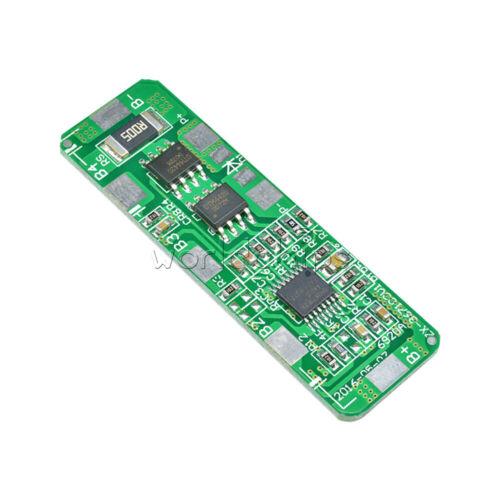 Celular 4a-5a Pcb Bms protección junta para 4s 4 Packs 18650 Li-ion batería de litio