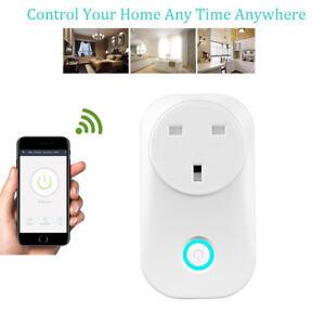 Details about Smart Home WIFI APP Remote Socket Timer Switch US/EU Plug For  eWeLink Google PR1