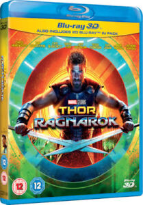 Thor-Ragnarok-3D-3D-2D-Blu-ray-Region-Free-Hemsworth-Marvel-Super-Heroes