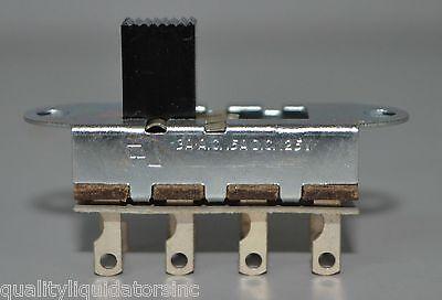 .5a @ 125v 3 Position ON-ON-ON Prepped 10 pcs CW Slide Switch