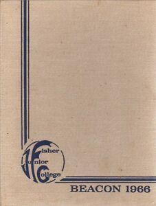 College-Yearbook-Fisher-Junior-College-Boston-Massachusetts-MA-Beacon-1966