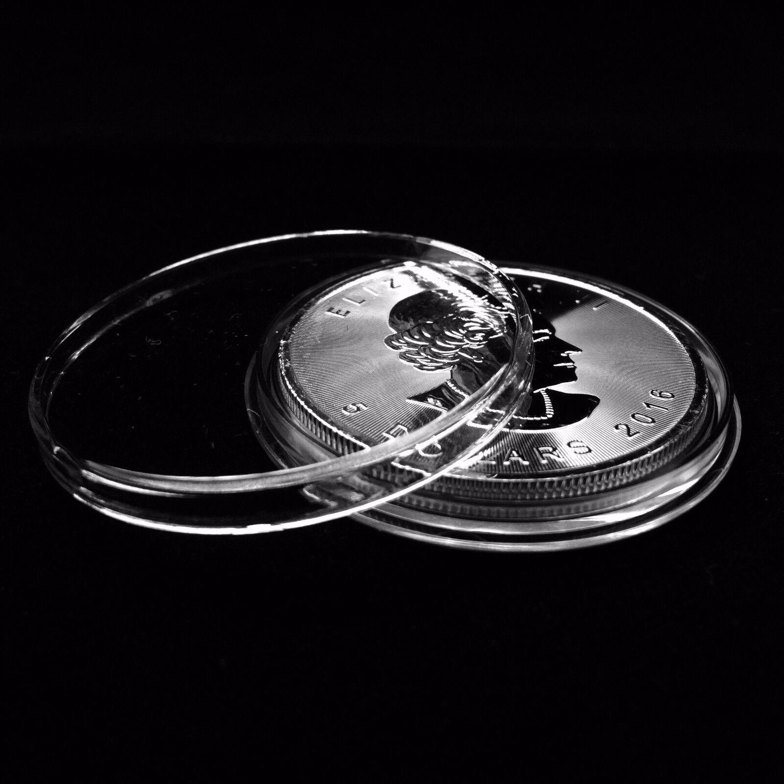 Canadian Silver Maple Leaf Coin Album LIGHTHOUSE GRANDE ENCAP 38mm Pages GREEN