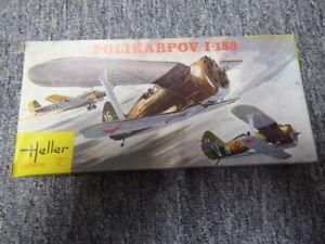 Maquette Vintage Heller - Polikarpov I-153 Au 1/72