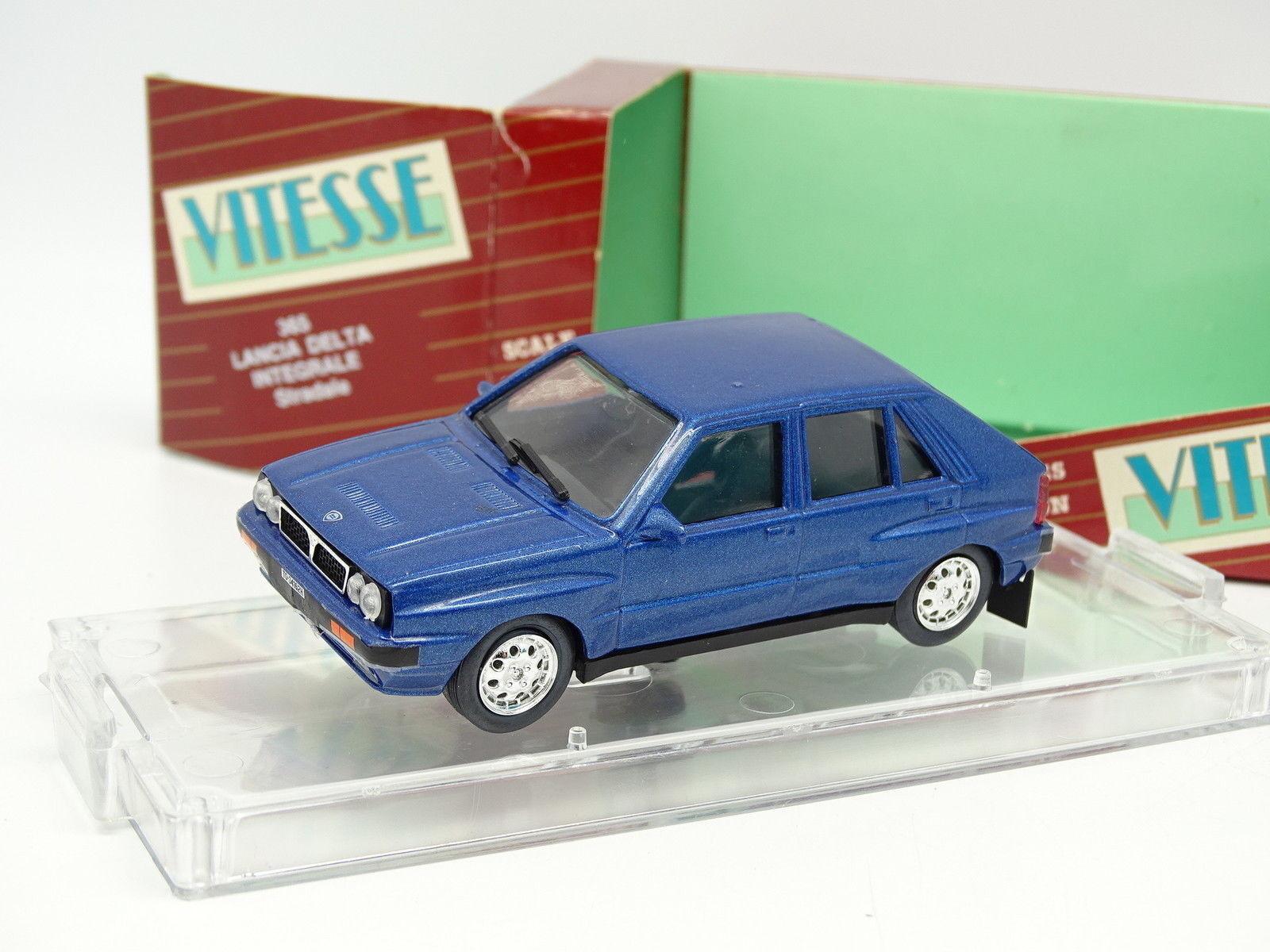 Vitesse 1/43 - Lancia Delta Integrale Bleue Bleue Integrale cca35a