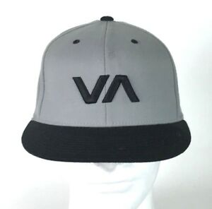 eefc628c54a RVCA VA Fitted Baseball SAMPLE HAT 7 1 4 - 7 5 8 Wool Spandex Dad ...
