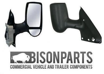 * Ford Transit MK6//MK7 Completo Ala De Puerta Espejo Eléctrico Inc Glass RH//os TRA400