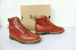 Dr Martens OMARI  ANALINE Black Leather Boots *Size 6.5 UK* BNIB