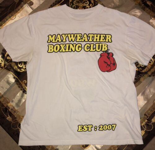 2007 Mayweather Boxing Club T Shirt Large WBC WBA