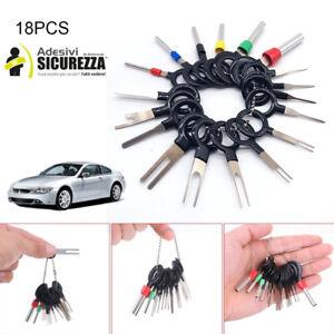 Set auto cablaggio elettrico crimpare connettore terminale pin 18 chiavi
