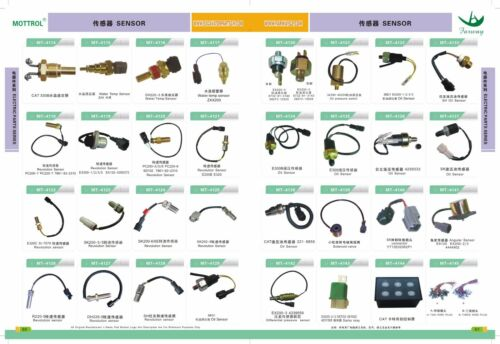 20Y-06-24681 Key Ignition Switch For Komatsu PC100-6 PC120-6 PC200-7 Excavator