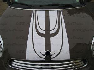 Kit-C-BANDES-VIPER-bandes-etiquette-pour-BMW-MINI-COOPER-S-COMPATRIOTE-R60-Works