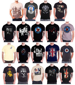 96fd820fe8 The Who T Shirt mens mod target band logo tour 2016 Quadrophenia ...