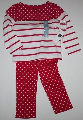 baby Gap NWT Girl/'s 3 6 12 18 24 Mo Outfit Set Pink Gauze Top /& Striped Shorts