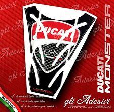 Paraserbatoio Resinato Sticker 3D DUCATI MONSTER 696 796 1100 mod. P6