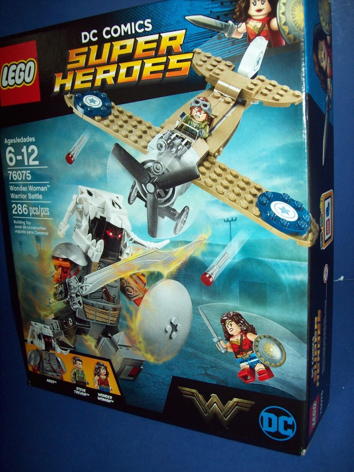LEGO DC Comics Super Heroes Wonder Woman Warrior Battle 2017  76075  Retirosso