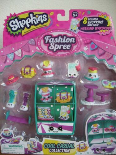 Cool N/' Casual Exclusive Collectio Shopkins Season 3 Fashion Spree Themed Pack