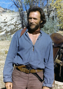 Art Print POSTER CANVAS  Clint Eastwood in The Outlaw Josey Wales