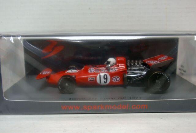 MARCH 711 #19 ALEX SOLER-ROIG SPAIN GP ESPAÑA 1971 1/43 SPARK S7160