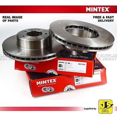 2X MINTEX DISC BRAKES FRONT BMW 5 E60 E61 6 E63 E64 DAIHATSU HIJET BUS 1.3 S221G