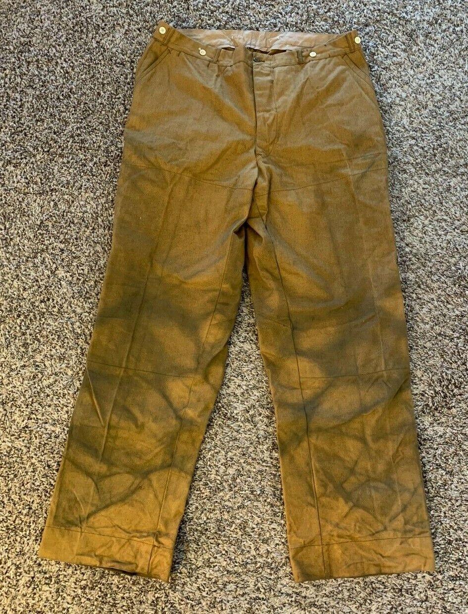 Vintage 1940's Hunting / Workwear Pants - Big Siz… - image 1