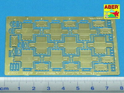1//35 ABER R25 WWII US ANTENA BRACKETS for SHERMAN LEE STUART 2 pcs.