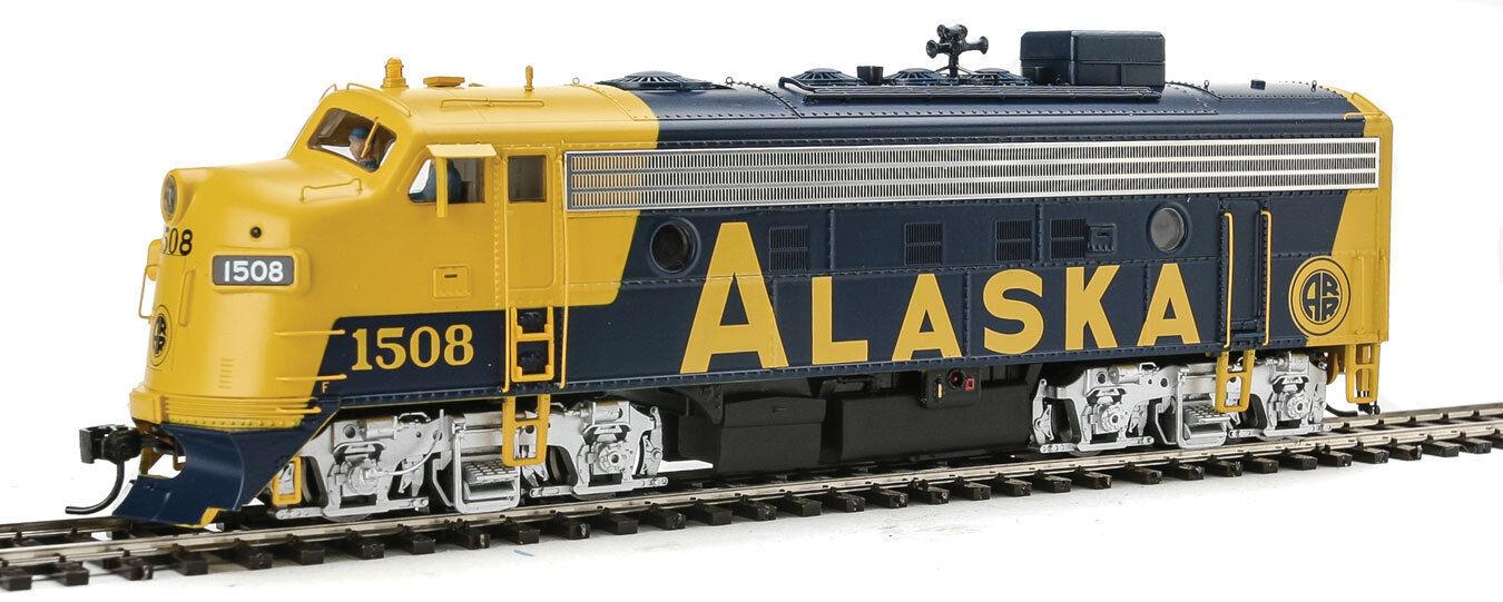 Escala H0 Set locomotoras diesel F7 desde Alaska Railroad con DCCSonido 40709