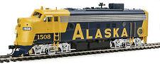 Spur H0 - Diesellokset F7 AB Alaska Railroad mit DCC + Sound -- 40709 NEU