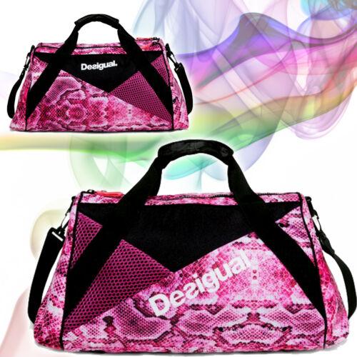 Desigual Tasche Damentasche Sporttasche Fitnesstasche Yoga Freizeittasche 2017