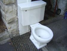 VINTAGE 1950's ONE FLUSH CADET BOWL ROUND American Standard 4043 toilet WHITE