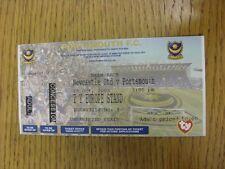 25/10/2003 Ticket: At Portsmouth, Newcastle United v Portsmouth [Beam Back] (com