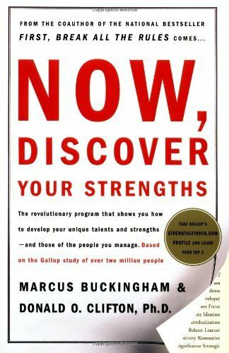 1 of 1 - Now, Discover Your Strengths by Marcus Buckingham, Donald O. Clifton
