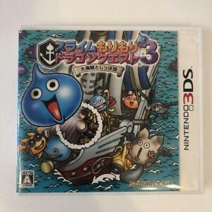 Nintendo-3DS-Slime-Morimori-Dragon-Quest-3-Square-Enix-Japan-Import