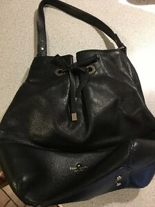 Image Is Loading Kate Spade New York West Valley Black Leather