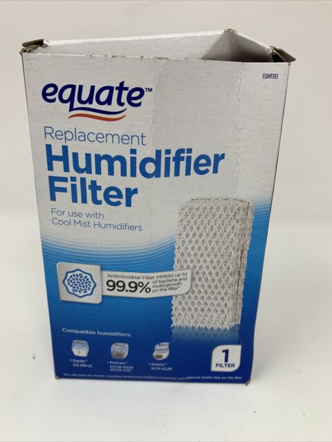 Equate Antimicrobial Replacement Cool Mist Humidifier Filter EQWF813 NEW in Box