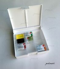 White Nights Watercolor plastic case for 12 pans. Nevskaya Palitra.