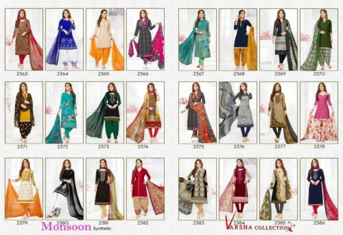 Buy 10 for 130$ 365 Days Offer on Synthetic Material Only Unstitched Material