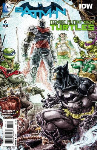 BATMAN TEENAGE MUTANT NINJA TURTLES #6 2016 VF NM STOCK IMAGE COVER A