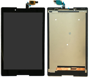 Negro-Pantalla-Tactil-Cristal-Digitizer-Monitor-LCD-montaje-para-Lenovo