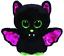 Ty Beanie BOO 41200 Igor chauve-souris 15 CM Paillettes Yeux Avec Paillettes Ailes et Ear Caps