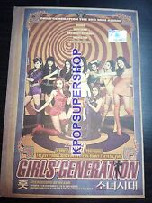 Girls' Generation Mini Album Vol. 3 - Hoot CD Autographed Signed Pages Promo CD
