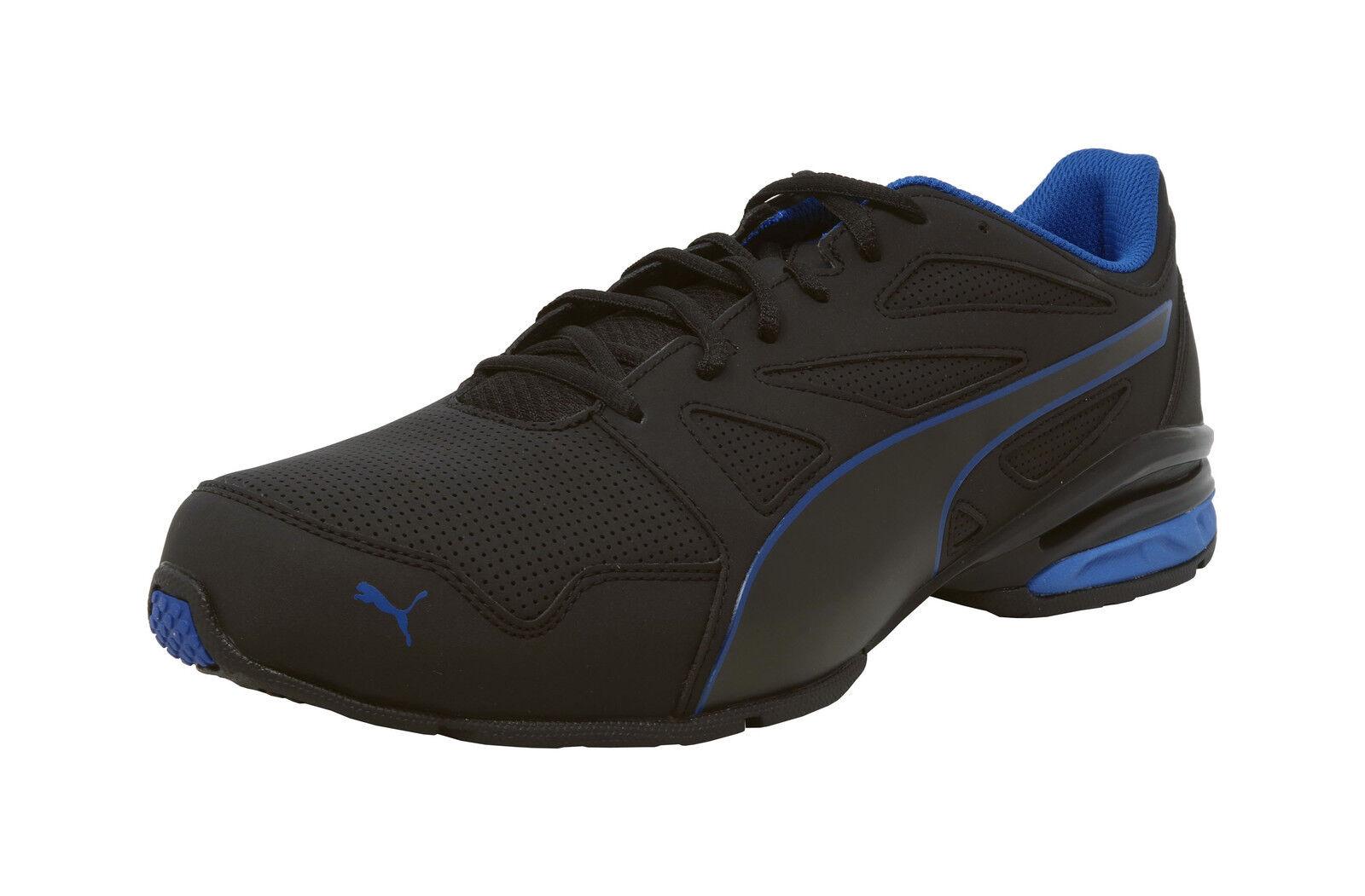 PUMA Tazon moderno SL Negro Azul Real De De De Espuma Suave Zapatos Con Cordones Zapatillas Hombres Adultos  sin mínimo