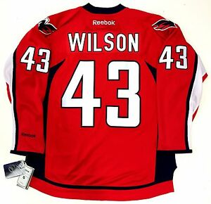 b8949775afb Image is loading TOM-WILSON-WASHINGTON-CAPITALS-NHL-REEBOK-PREMIER-HOME-