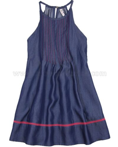 Deux par Deux Girls/' Chambray Dress Coup de Foudre Sizes 5-12