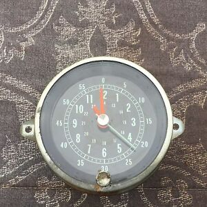 1965 Chevy Impala Super Sport console clock working condition with wire harness