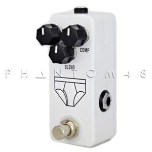 Jhs Whitey Slip Mini Compresseur Pédale D'effets Guitare-afficher Le Titre D'origine Confortable Et Facile à Porter