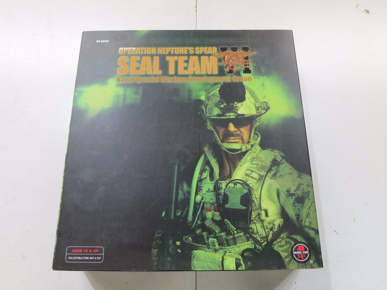 SOLDIER STORY OP Neptune's Spear Navy SEAL Team VI NEW 1 6th Figure  SS-057